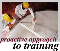 Proactive Approach to Training